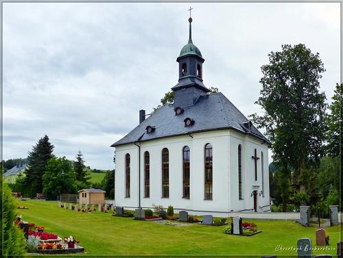 Dorfkirche Schwarzbach bei Elterlein