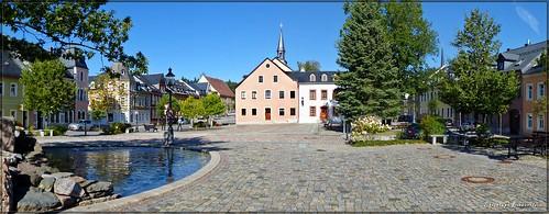 Marktplatz zu Elterlein