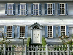 Am I blue?: The Philip Porcher House (c.1773), 19 Archdale Street, Charleston, SC