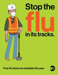 MTA's 'Stop the Flu in its Tracks' Campaign