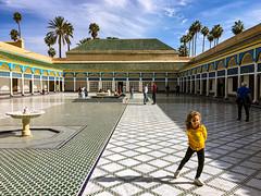 Bahia Palace, Marrakech, Morocco, 藦洛哥