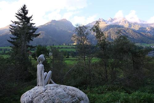 Skulpturenpark an der Isel - Virgen