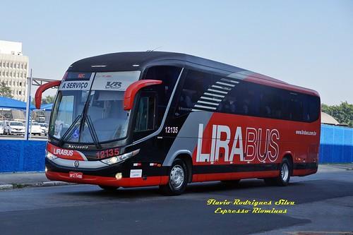 LIRA 12135 (LIRABUS) - R.CLARO x S.BERN.CAMPO