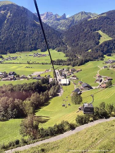 Seilbahnfahrt auf den Diedamskopf / Schoppernau