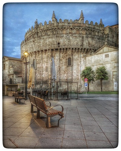 Ávila - Ábside de la Catedral