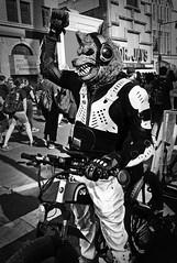 Wolfman Shows Solidarity