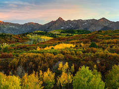 Telluride Autumn Colors Fall Foliage Colorado Aspens Fuji GFX100 Fine Art Landscape Nature Photography! Elliot McGucken 45EPIC Master Medium Format Photographer Fuji GFX 100 & Fujinon Fujifilm GF Lens!