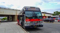 WMATA Metrobus 2012 Orion VII 3G BRT Diesel #3038