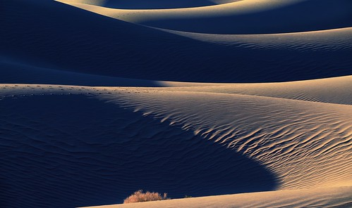 Poetry in Light - Sunrise at Mesquite Flat Dunes - Death Valley National Park, California