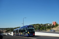 Van Hool ExquiCity 24 n°718  -  Nîmes, TANGO - Photo of Calvisson