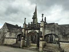 L'église de St Salomon près de Landerneau, le plus vieil enclos de la région