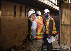 MTA Announces Early Completion of Critical Track Replacement Work at End of E Line in Queens