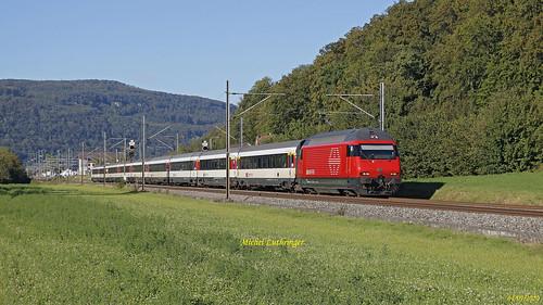 Re 460 030-0 Train IR 2378 Zurich Hbf-Bern à Murgenthal