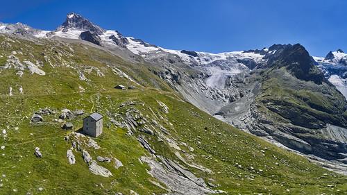 The vanishing Glacier de Ferpècle