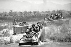 Vietnam War: U.S. Mechanized, Go Noi, Vietnam - DA NANG 1969