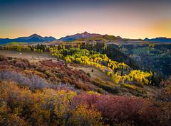 Wilson Peak Telluride Peak Autumn Colors Fall Foliage Colorado Aspens Fuji GFX100 Fine Art Landscape Nature Photography! Elliot McGucken 45EPIC Master Medium Format Photographer Fuji GFX 100 & Fujinon Fujifilm GF Lens!
