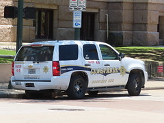 Harris County Constable Chevy Tahoe