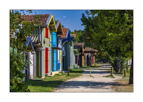 Les cabanes du port de Biganos (2)