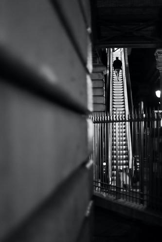 On the light steps