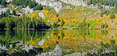 Autumn Reflections, Lake George, Sierra Nevada, CA 2016