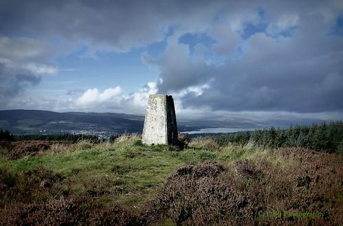 Loch Lomond from Pappert Hill