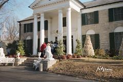 Graceland, former home of Elvis Presley, Elvis Presley Blvd, Memphis, TN, 8 Jan 1987