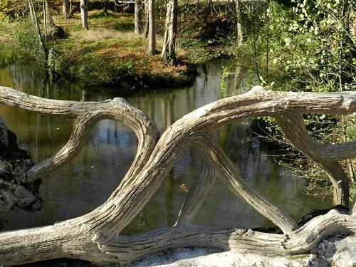 Le pont faux bois