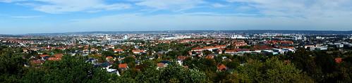 Dresden - Blick vom Fichteturm