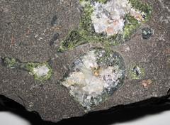 Amygdaloidal basalt (Portage Lake Volcanic Series, upper Mesoproterozoic, 1.093 to 1.097 Ga; Keweenaw Peninsula, Upper Peninsula of Michigan, USA) 17
