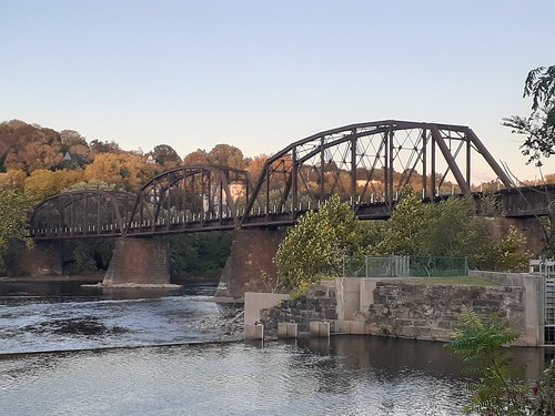 Lehigh Valley Railroad Bridge: Delaware River, Pennsylvania, USA