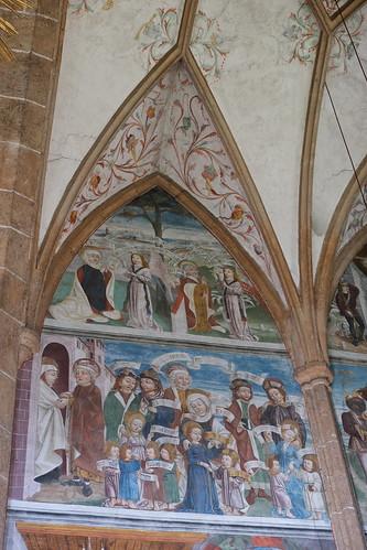Die Heilige Sippe - Wallfahrtskirche Maria Schnee, Obermauern