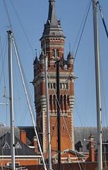 Dunkerque beffroi de l'Hôtel de ville en 2020