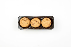 Sweet Cookies in Plastic Box