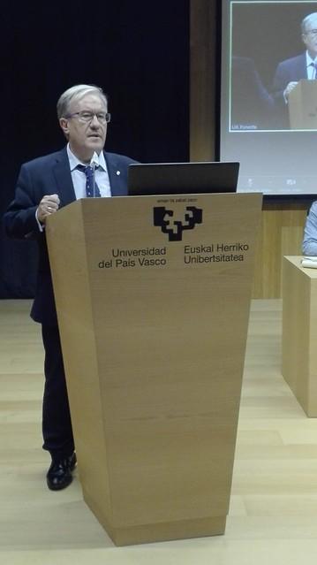 Justicia Dolado  interviene en la Universidad del Pais Vasco en jornada organizada por el Ararteko
