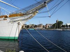 Musée Portuaire Dunkerque  le Duchesse Anne (trois-mâts carré)