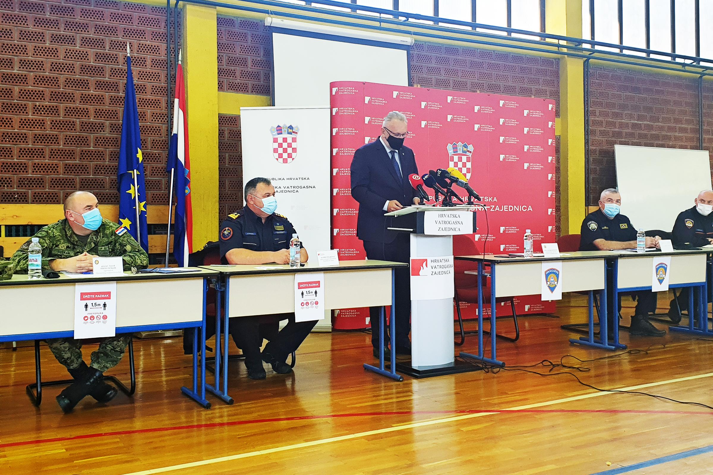 Održana konferencija za medije o završetku Protupožarne sezone 2020.