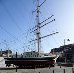 Musée portuaire de Dunkerque  Bateau pilote La pilotine N°1