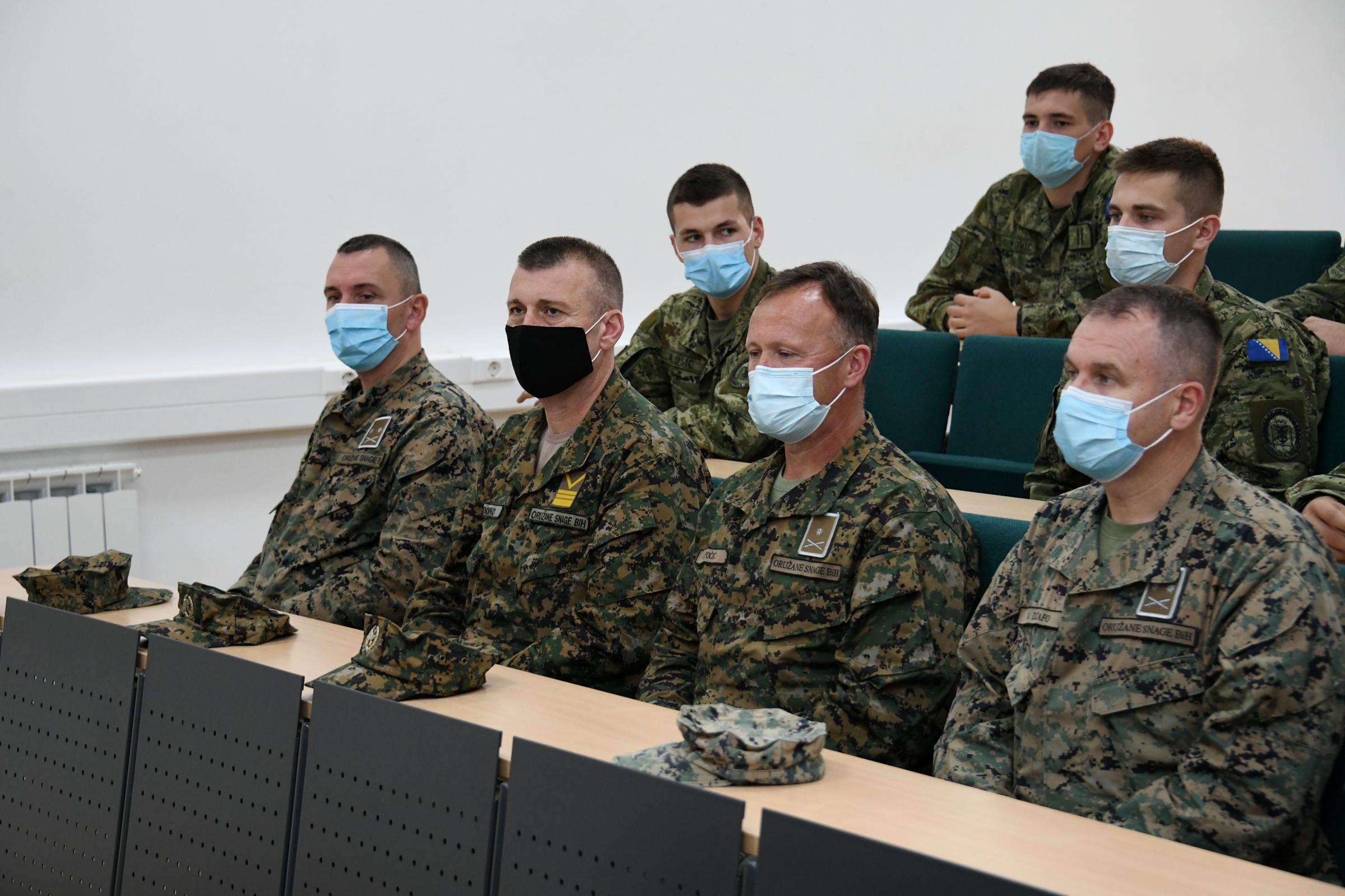 Izaslanstvo Bosne i Hercegovine u službenom posjetu Ministarstvu obrane RH