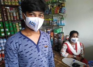 Mask distribution at rangat