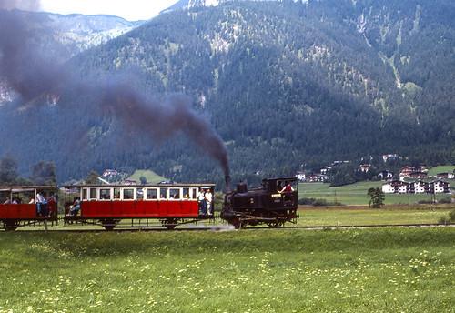 Achenseebahn Loco 2 Maurach 09/08/1986