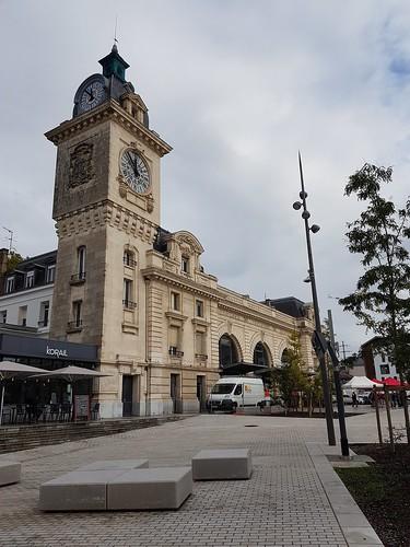 Bayonne, Pyrénées-Atlantiques:  la gare