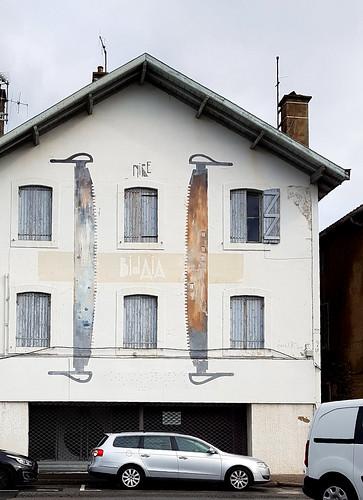 Bayonne, Pyrénées-Atlantiques: Xabier XTRM sur le quai de Lesseps