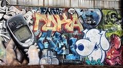 Nostalgic mural
