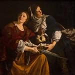 Judith et une servante avec la tête de Holopherne, Orazio Gentileschi, Pinacothèque du Vatican, 2020 - https://www.flickr.com/people/29248605@N07/