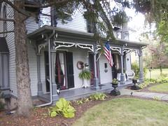 Seneca Falls  - New York - The Laura Hubbell House Bed & Breakfast - Historic