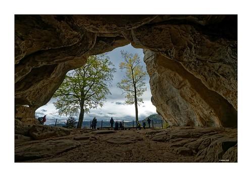 Sächsische Schweiz - Kuhstall