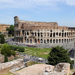 Rome - View of the Coliseum - https://www.flickr.com/people/190121087@N04/