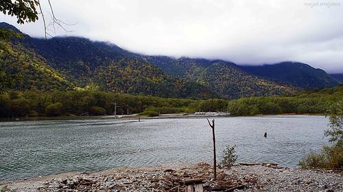 Taisho Pond, Kamikochi, Nagano, Japan