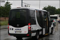 Dietrich Véhicules City 23 (Mercedes Sprinter) – CAP Pays Cathare (Transdev) n°73107 / Airbus