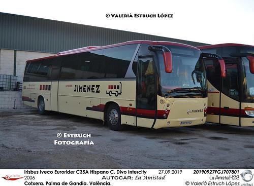 Irisbus Iveco Eurorider C35A Hispano Carrocera Divo Intercity